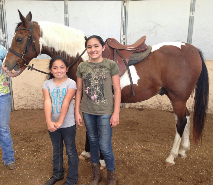 Riding Lessons - The sisters